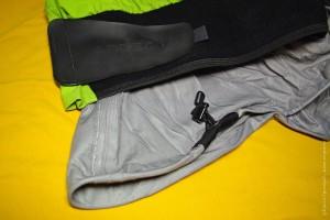 Поясной отдел драйтопа: пояс с липучкой для закрепления юбки