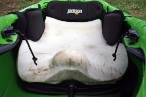 Свой вариант подушки сидушки (Sweet Cheeks) каяков Джексон (Jackson Kayak)