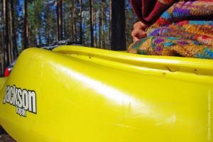 Дыры hole в борту beam каяка Jackson crack problem kayak