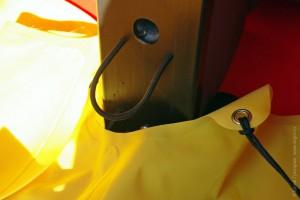 Крепление трастера Jackson kayak спереди