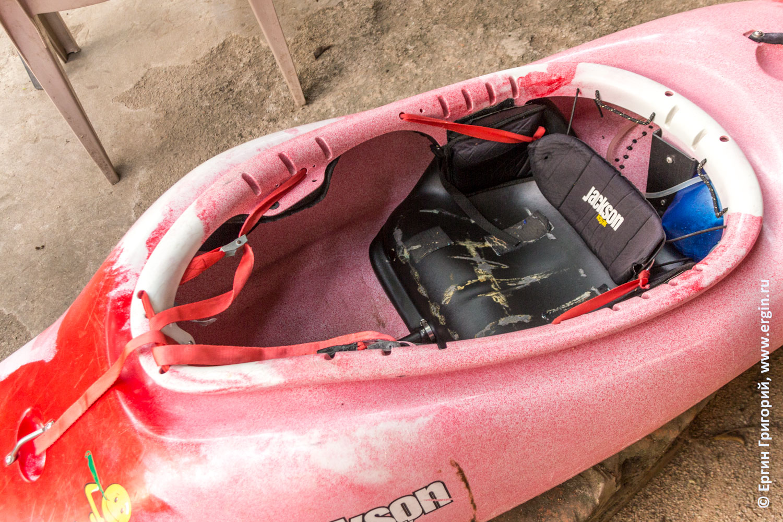 Замена веревочек Jackson kayak на стропу с фиксаторами