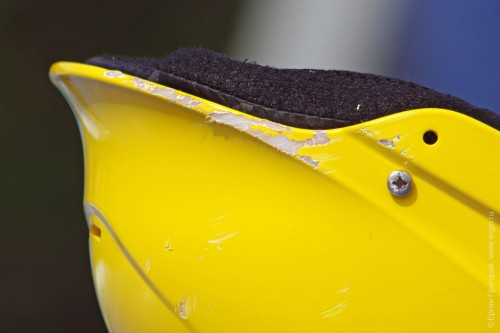 Шлем Shred Ready после удара головой о камень