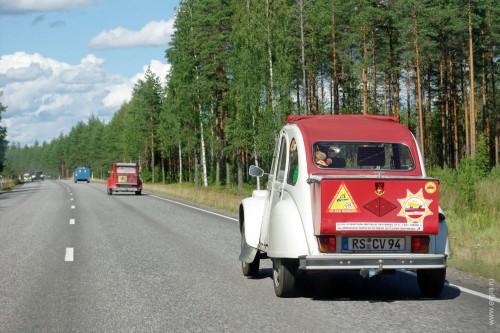 Старинные машинки в Финляндии