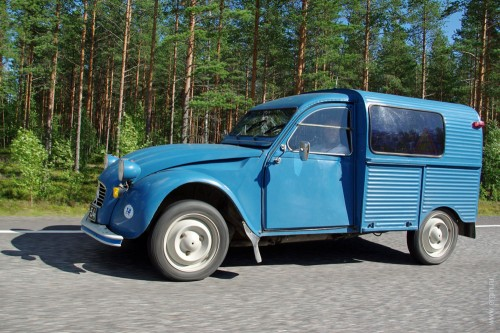 Old car in Finland