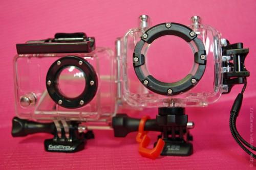 Защитный бокс экшн-камеры GoPro Hero 2 и AEE XTR 2