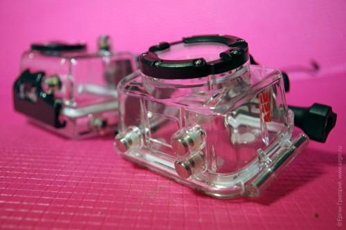Три кнопки на водонепроницаемом боксе AEE XTR 2 SD 21