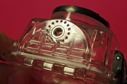 Резба под винт штатива защитного бокса экшн-камеры AEE