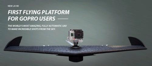 Беспилотный летательный аппарат с GoPro Hero на борту
