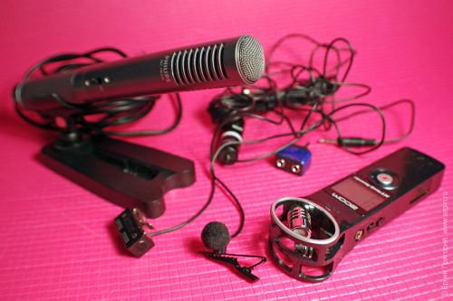 Внешний микрофон для экшн-камеры и не только