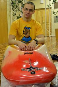 Jackson Kayak Rock Star в Светлановском бассейне