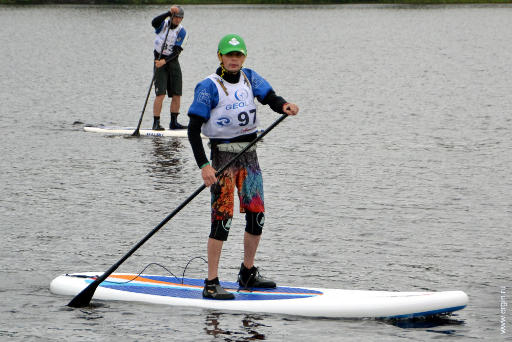 SUP Stand Up Paddle в Тивдии