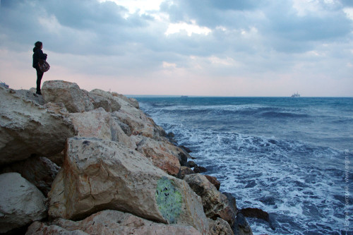Средиземное море Кипр Ларнака