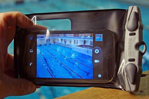 Aquapac для смартфона, подводная съемка, фото