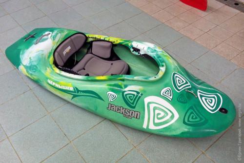Оригинальный дизайн для Jackson kayak