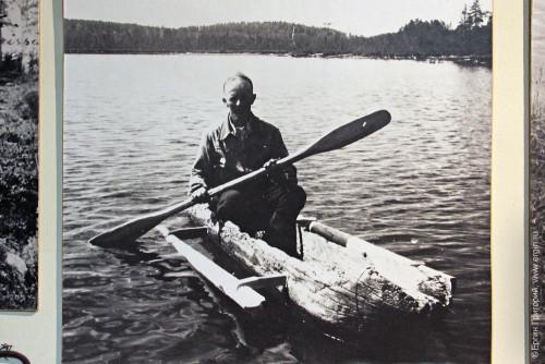 Старинный финский каякер