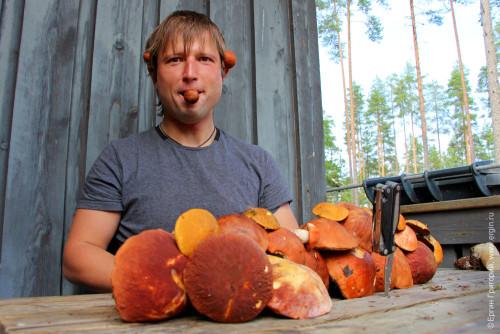Александр Митенев: рибы торчат из ушей