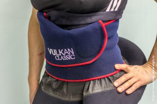 Как правильно надеть на юбку каяка неопреновый пояс для похудания герметичность
