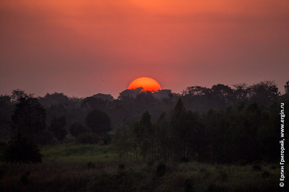 Красное солнце Африки