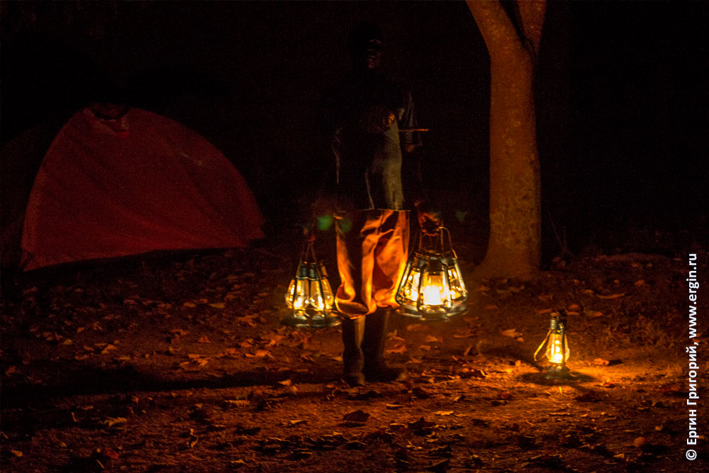 Керосиновые лампы фонарщик