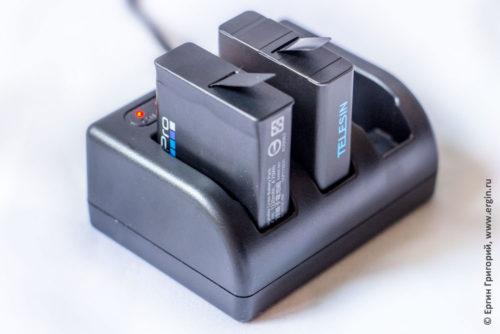 Зарядное устройство Telesin для GoPro HERO5 black