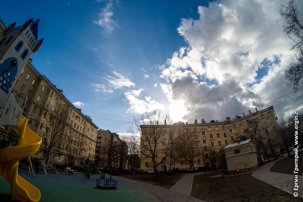 Дневной тест GoPro 5 против солнца