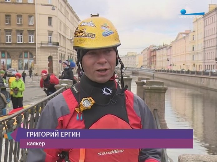 Каякер Питера Санкт-Петеребурга рассказ о прогулке по каналам
