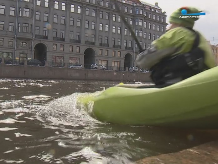 Спуск на воду каяков Санкт-Петербург