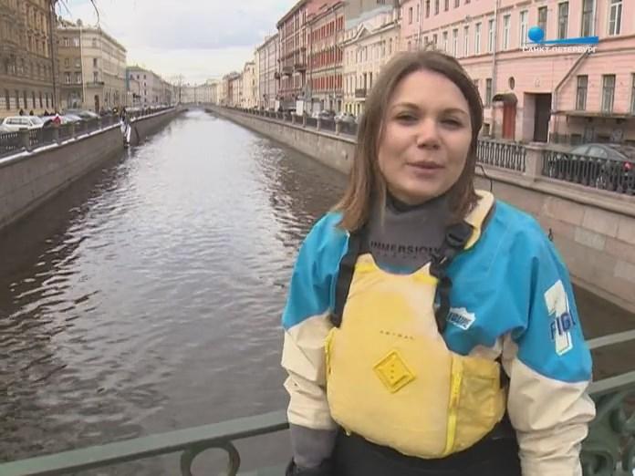 Репортаж о прогулка на каяках по СПб