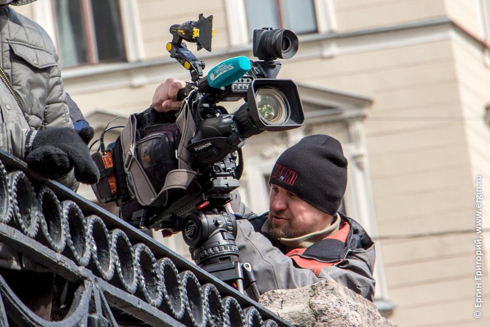 Оператор телеканала Санкт-Петербург