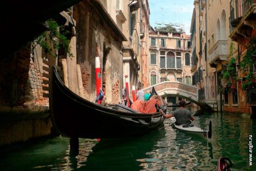 На каяке по рекам и каналам Венеции