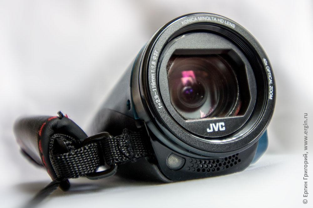 Объектив защищенной от воды пыли мороза и сотрясения видеокамеры JVC GZ-RX645AEU