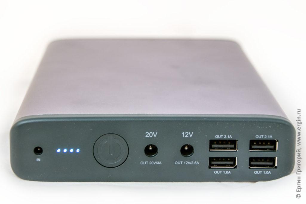 Самый емкий пауэрбанк для зарядки ноутбука MAXOAK K2