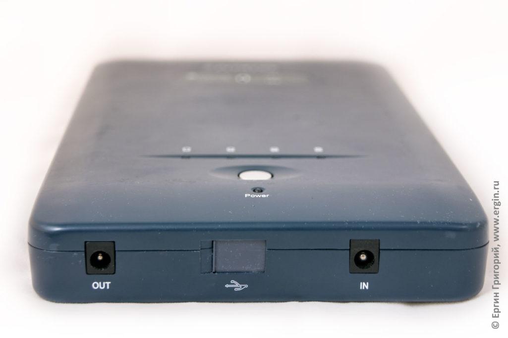 Пауэрбанк для ноутбука Pitatel Notebook Power Station NPS-153, 41400mAh/153Wh (16-19V)