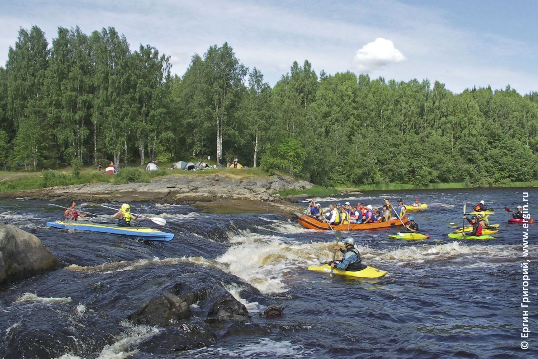 Переход от байдарки к каяку от водного туризма к спорту