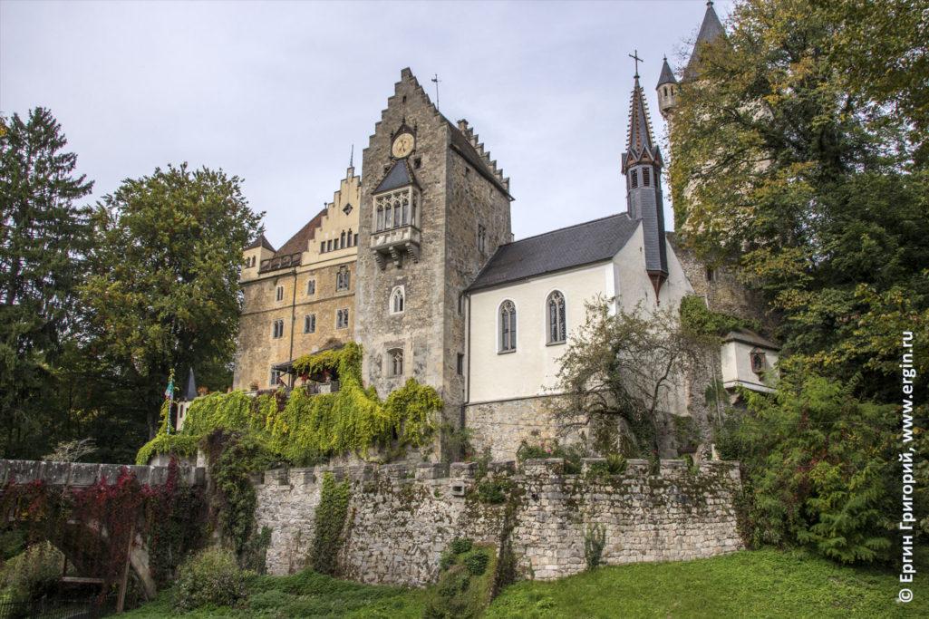 Старинный замок Эгг Платтлинг