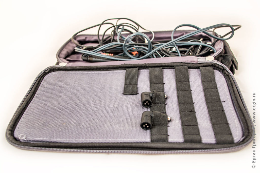 Как хранятся разъемы для Pitatel NPS-153 пауэрбанк для ноутбука