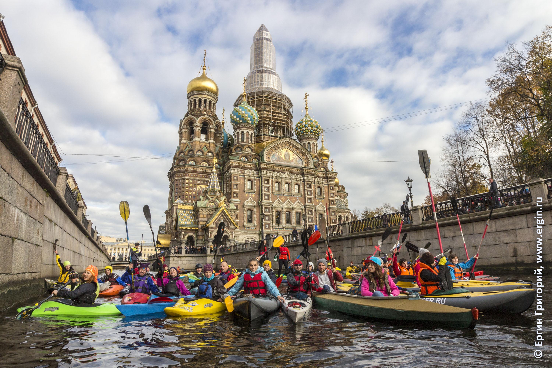 Каякинг, SUP-серфинг и водный туризм на байдарках в Санкт-Петербурге