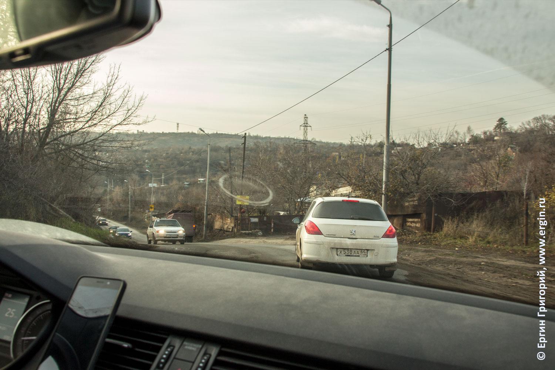 Подъемы и спуски дорог Саратова холмы