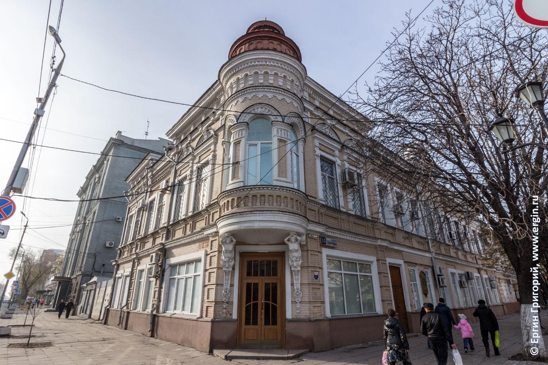 Саратов проспект Кирова старинный купеческий дом