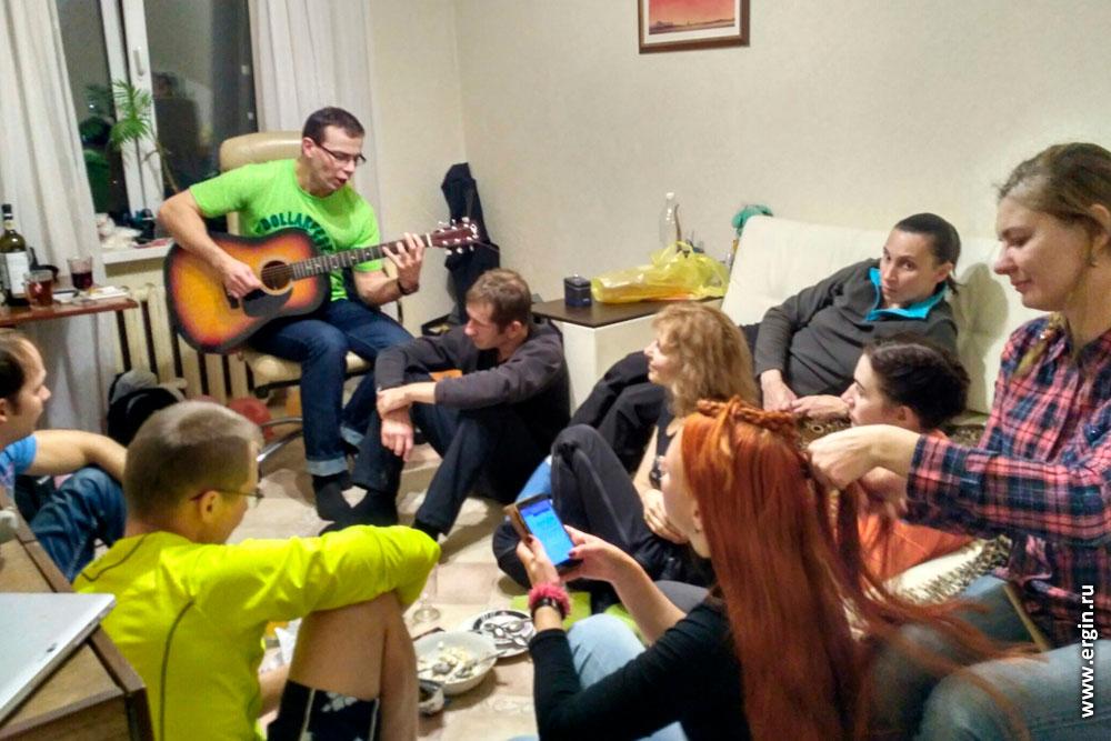 Вечеринка у каякеров песни под гитару