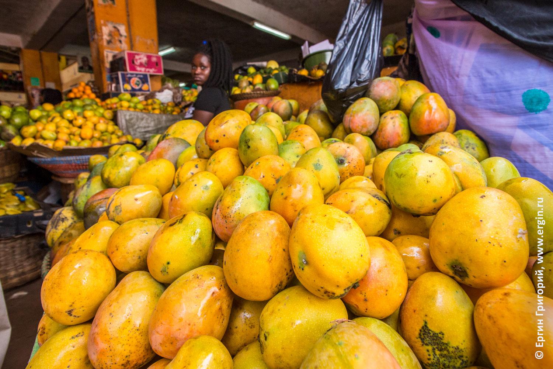 Манго очень вкусное спелое