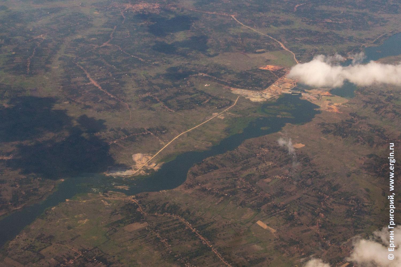 Затопление Нила в Уганде плотина дамба фото