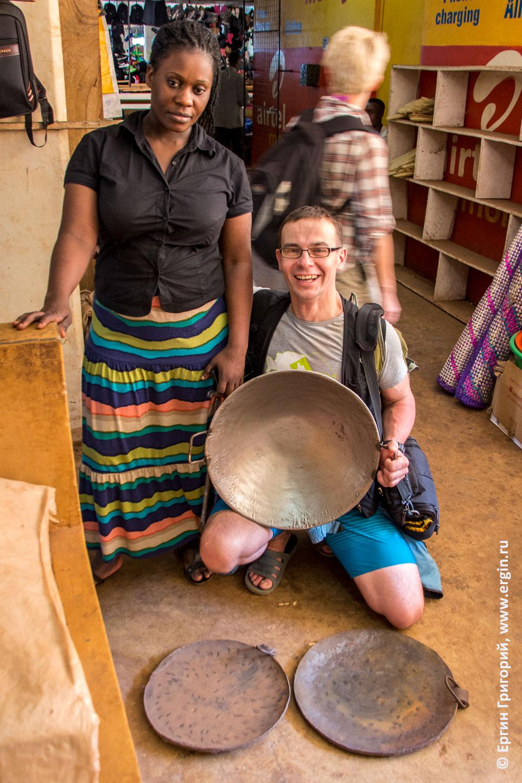 Африканские сковородки Уганда