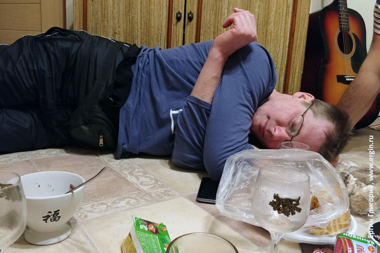 Спящий каякер из Самары