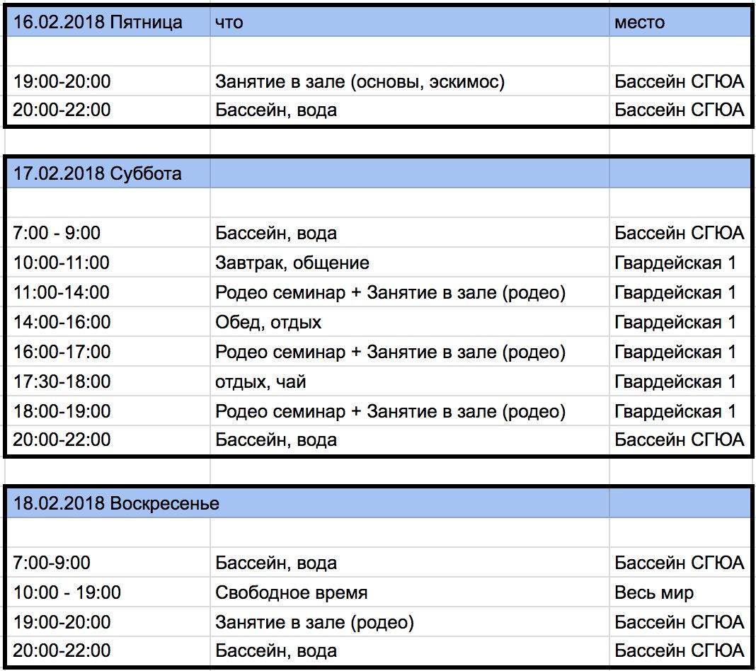 Саратов семинар и обучение каякингу расписание тренировок и занятий