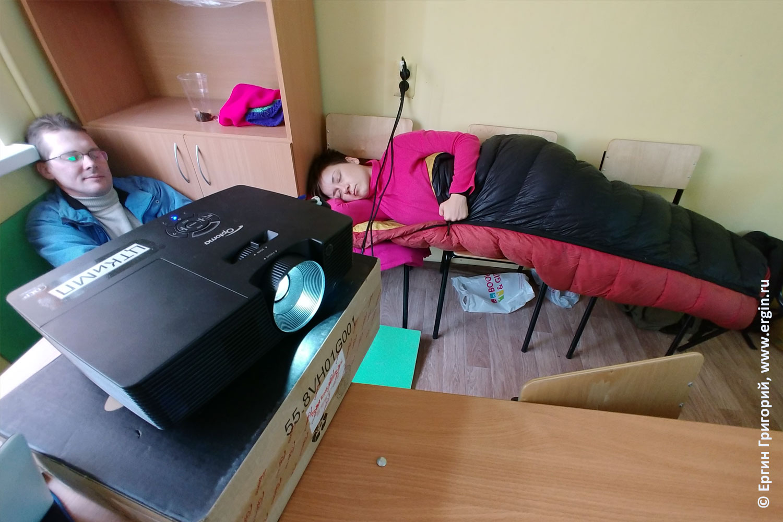 Семинар по каякингу спящие каякеры из Самары