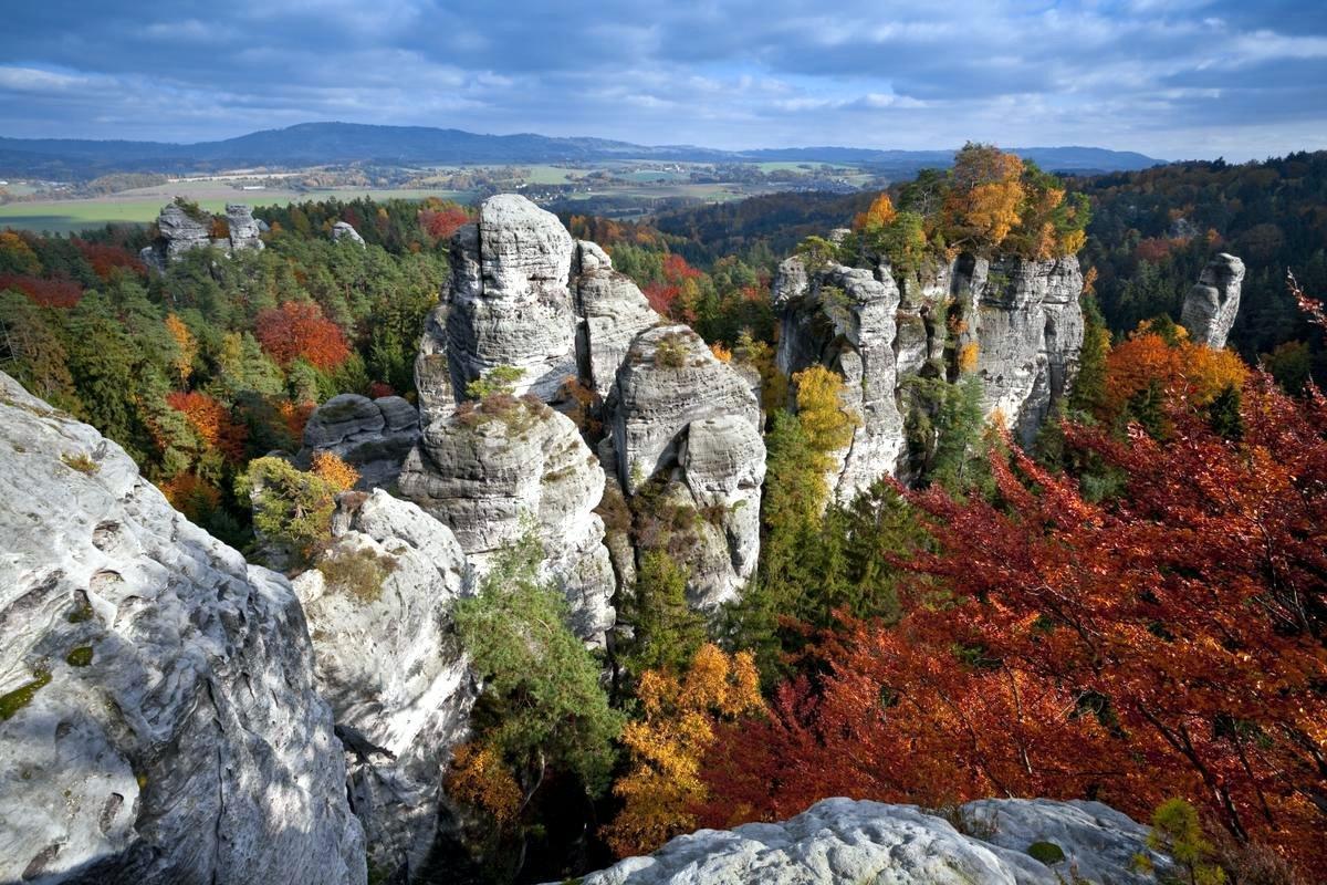 Чешский рай по пути из Платтлинга