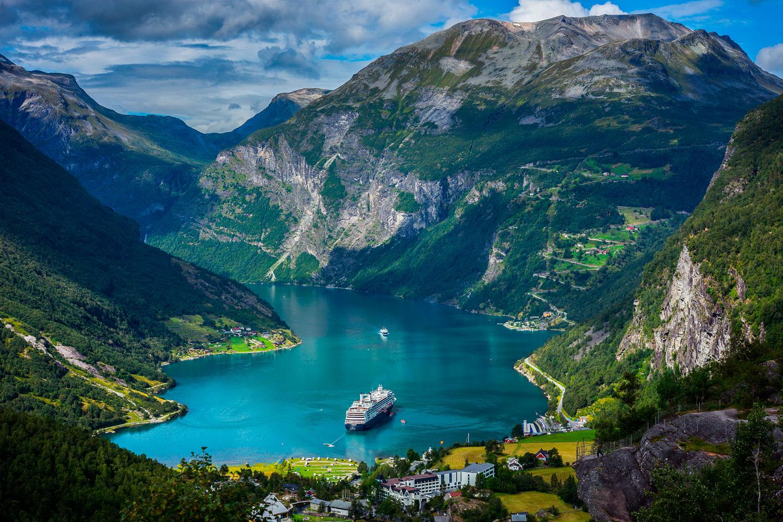 Норвегия Гейрангер-фьорд