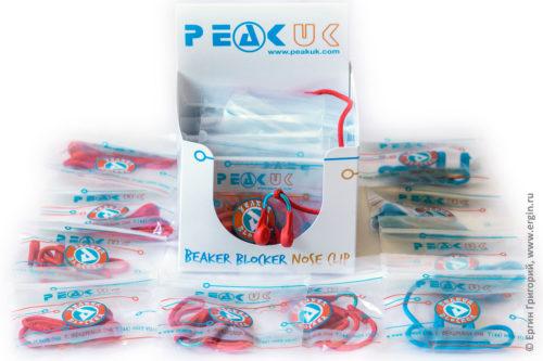 Nose clip Beaker Blocker PeakUK купить продажа прищепки для каякера лучшие недорого дешево