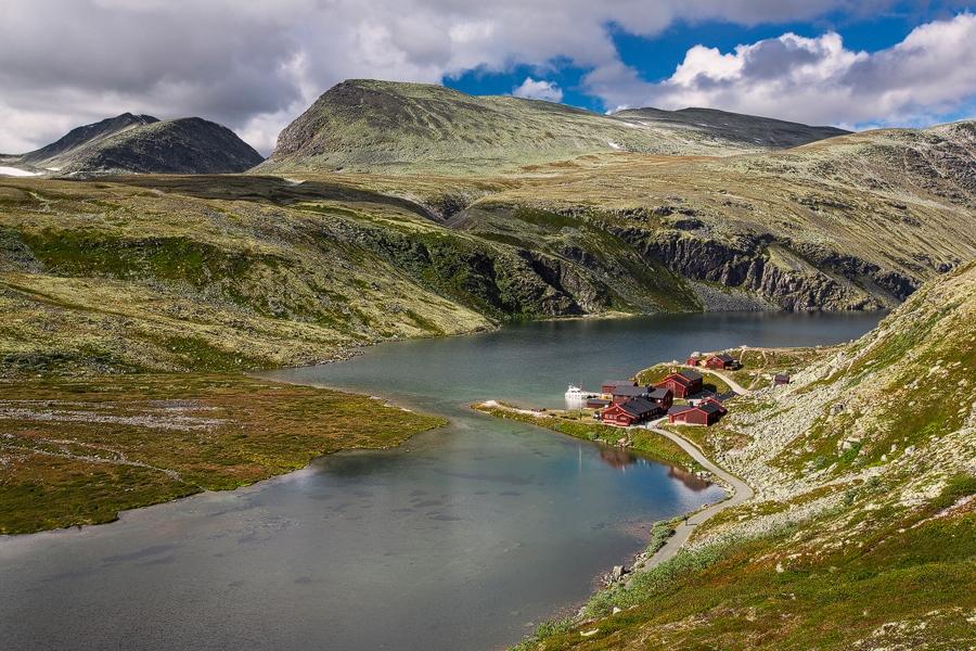 Норвегия национальный парк Рондоне